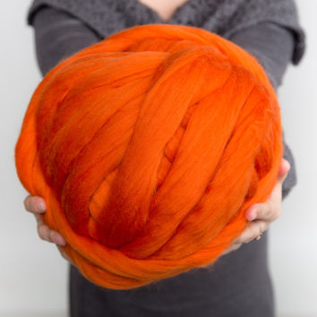 Super bulky yarn, Big yarn, Roving, Chunky yarn, Merino wool yarn, Merino wool, Giant yarn, Wool yarn, Merino wool roving, Giant wool, Yarn