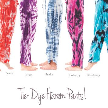 Tie-Dye pants By Buddha Pants