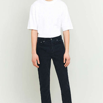 Loom Navy Cord Dad Jeans - Urban Outfitters