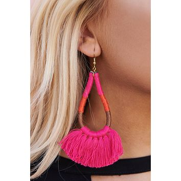 Bright Summer Drop Earrings (Multi)