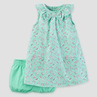 Baby Girls' Butterflies Dress Mint - Just One You™ Made by Carter's® : Target