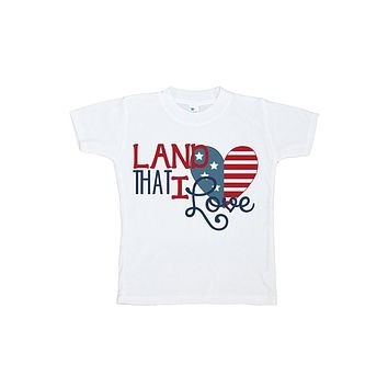 Custom Party Shop Kid's 4th of July T-shirt