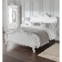 Estelle Antique French Style Bed