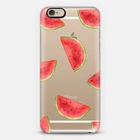 Watermelon Shuffle iPhone 6 case by H. Nichols Illustration | Casetify