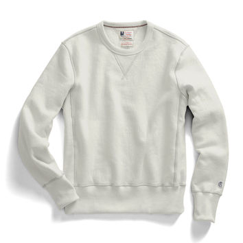 Reverse Weave Sweatshirt in Natural