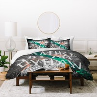 Wesley Bird Rather Be An Outlaw Duvet Cover