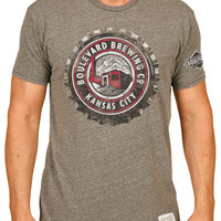 Boulevard Bottle Cap Grey T-Shirt