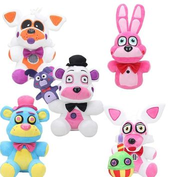15-25cm Sister Location  At  plush toy Funtime Freddy Foxy  Stuffed Animals & Plush Toys keyring pendant