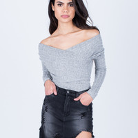 The Heathered Bodysuit