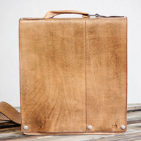 fullgive leather presents/the man bag. Sale