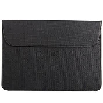 Portable PU Laptop Sleeve Bag Protective Leather Notebook Case Computer Cover for 11 inches For Macbook Air Pro Retina