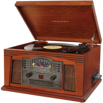 Crosley Radio Lancaster Musician Entertainment Center (paprika)