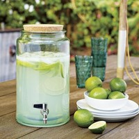 Glass Drink Dispenser | west elm