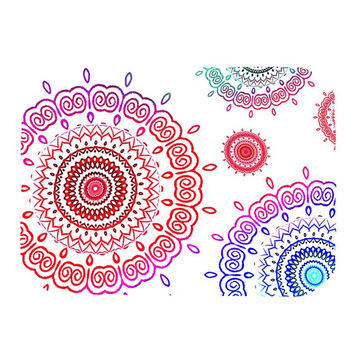 "Monika Strigel ""Rainbow Infinity"" Place Mat"