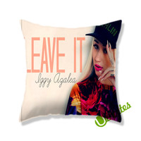 Iggy Azalea Leave It Square Pillow Cover