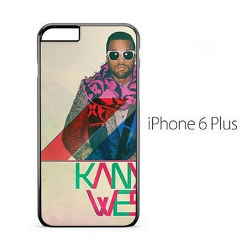 Kanye West Colorful iPhone 6 Plus Case
