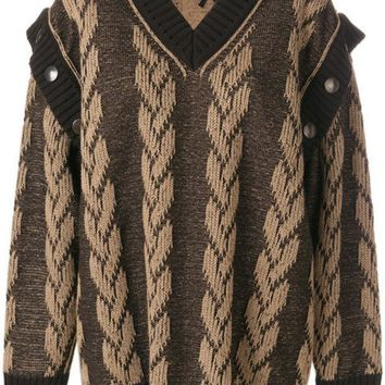 ESBONJF Marc Jacobs Jacquard Knit Sweater - Farfetch