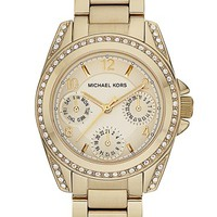 Women's Michael Kors 'Mini Blair' Multifunction Watch, 33mm