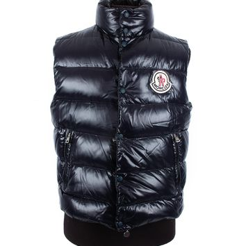 Moncler Midnight Blue Down Vest