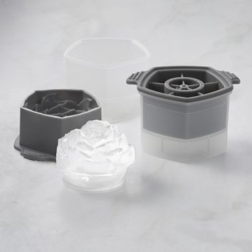 Williams Sonoma Rosebud Silicone Ice Molds, Set of 2