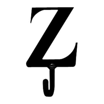 Wrought Iron Letter Z Wall Hook Small