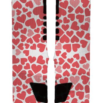 Hearts Galore Custom Nike Elites