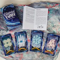 The Constellation Tarot - Tarot Cards, Spiritual Cards, Tarot Deck, Oracle Cards, Magical Night Sky, Constellations, Tarot Card Deck, Stars