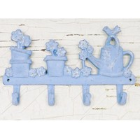 Flower Pot Wall Hook - Choose Your Color - Colorful Cast and Crew