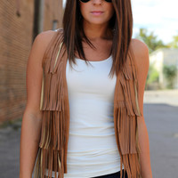 Fringy Leather Vest