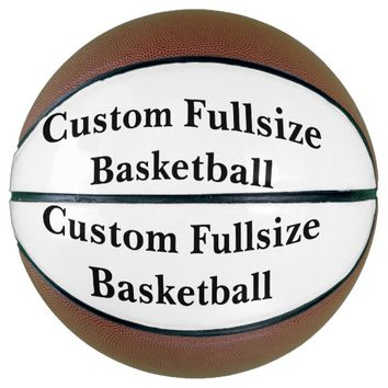 Custom Fullsize Basketball