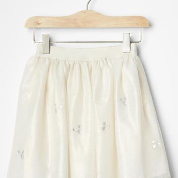 Gap Girls Sparkle Tulle Circle Skirt