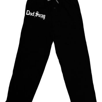 Dad Swag Text Adult Lounge Pants by TooLoud