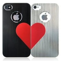 3D Love Metal iPhone Case For Lovers