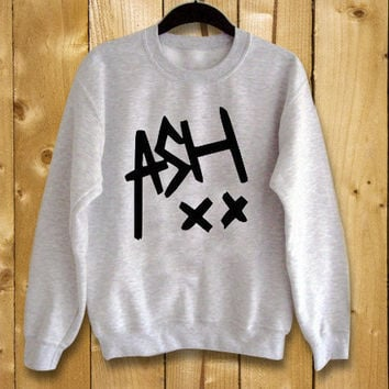 Ashton irwin ash xx 5 seconds of summer,sweatshirt for women and men,