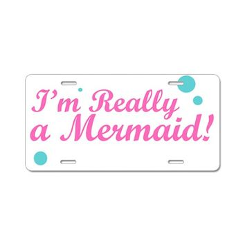 Mermaid License Plates | Mermaid Front License Plate Covers - CafePress