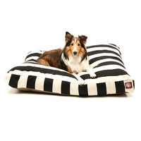 Majestic Pet Vertical Stripe Rectangular Pet Bed