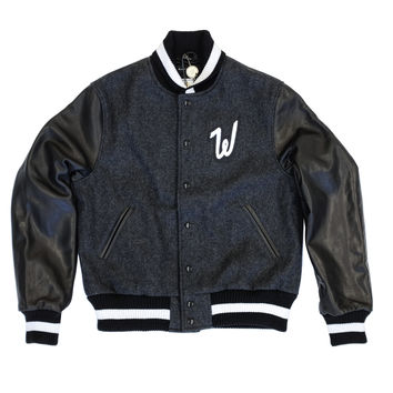 Raised by Wolves x Golden Bear Varsity Jacket