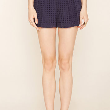 Contemporary Pleated Shorts