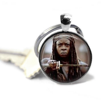 The Walking Dead Michonne Keychain