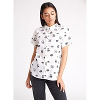 Morning Glory Women's Button-Up Top