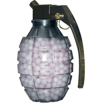 TSD Tactical 6mm .20g BBs - Clear Grenade Feeder Bottle