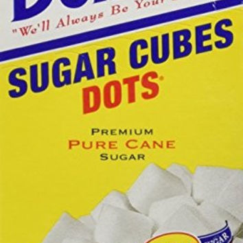 Domino Sugar Cubes Dots, 1lb (Pack of 4 Boxes)
