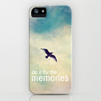 do it for the memories iPhone & iPod Case by Sylvia Cook Photography