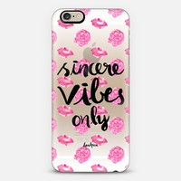 Sincerity iPhone 6s case by Lenahrose | Casetify