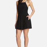 Women's 1.STATE Pleated Front Romper,