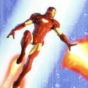 Iron Man & The Armor Wars #3 - Limited Edition Giclee on Canvas by Francis Tsai (1967-2015) and Marvel Comics