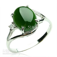 925 silver inlay egg noodles men and women ring natural jasper ring / ring to send the certificate