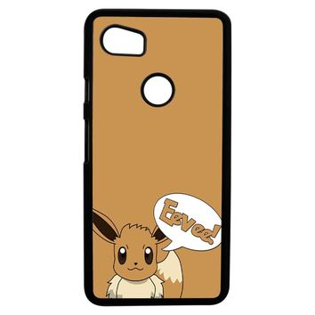Pokemon Cute Eevee 2 Google Pixel 2XL Case