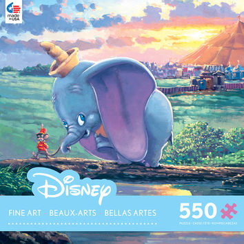 Ceaco Disney Dumbo - Unlikely Friends 550 Piece Puzzle