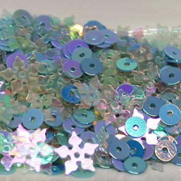 Frozen Sequin Mix - Shaker Card Fillers - NEW!